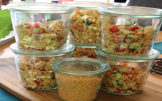 Couscous Salat Variation – Taboulé – Türkischer Salat
